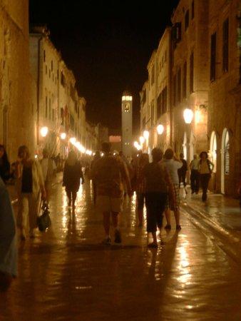 Hilton Imperial Dubrovnik : At night in Dubrovnik Croatia