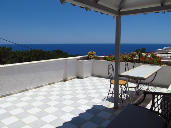 Aroma Creta Hotel Apartments & Spa: View from our terrace