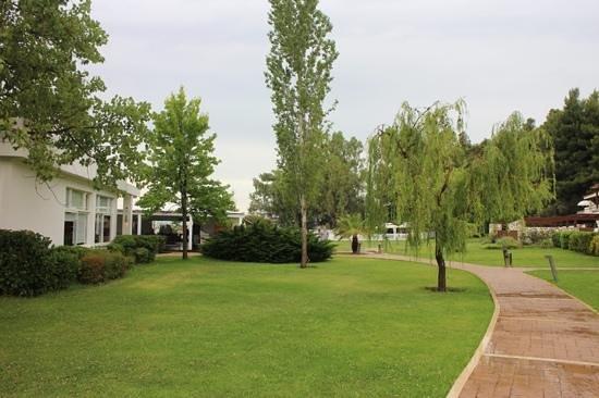 Skiathos Princess Hotel: il parco dell'Albergo