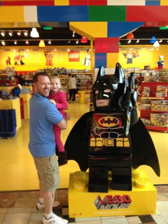 LEGOLAND Discovery Center: Yes, you will probably buy some stuff too!