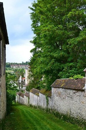 Provins : View from Rue Saint Thibaut