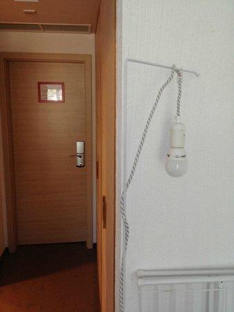 Hotel Bonvino Wine and Spa Badacsony : Bit eerie lamp