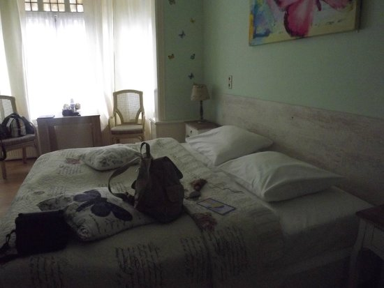 Hotel Corel: Vista do quarto triplo