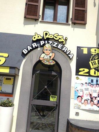 Ristorante Pizzeria Da Rossi : l'entrata