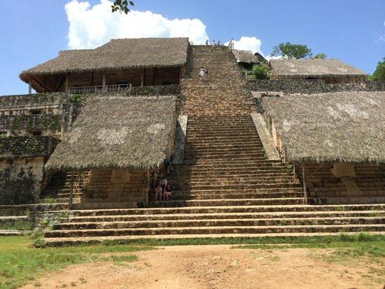 Iberostar Tucan Hotel : temple d'Ek Balam