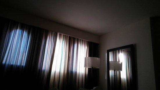 Barcelo Punta Umbria Mar: 7.45 de la mañana, claridad habitacion