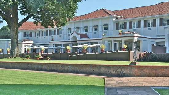 The Victoria Falls Hotel: Iconic colonial style
