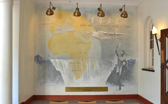 The Victoria Falls Hotel: A mini museum of the Colonial era