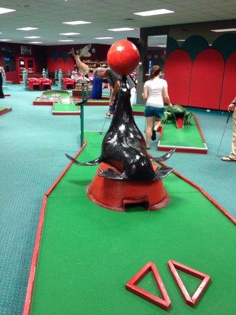 Cove Haven Resort: Minim golf Tournament