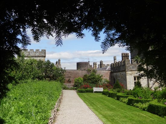Lismore Castle Gardens & Gallery: View of the castle you can't enter