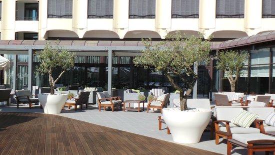 Park Plaza Histria Pula: Top terrace