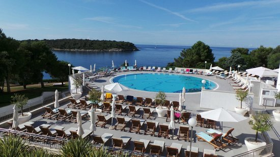 Park Plaza Histria Pula: View from the top terrace