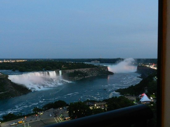 Sheraton on the Falls: View from our room.  19th floor