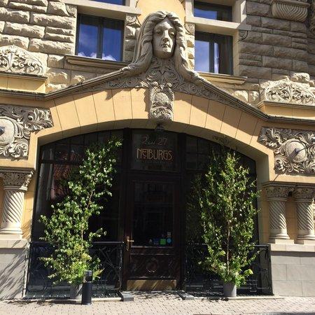 Neiburgs Hotel: Вход