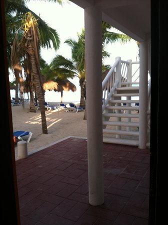 Sunscape Sabor Cozumel: View from our front door