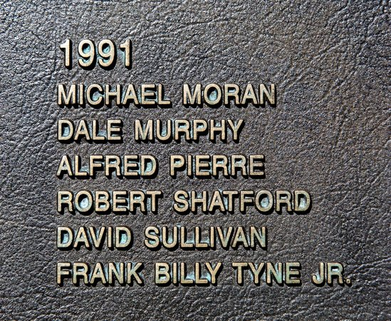 Fishermen's Memorial Monument: Those names upon whom the movie