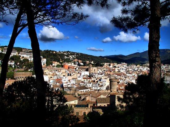 Vila Vella (Old Town): вид на Тоссу