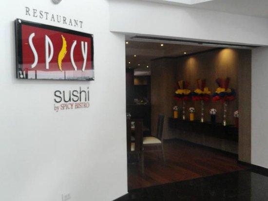 Mercure Hotel Alameda Quito: Spicy Restaurant