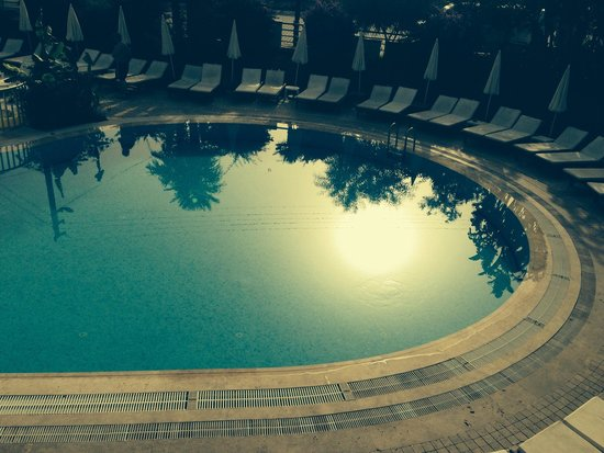 Faber Apart Hotel: Pool view