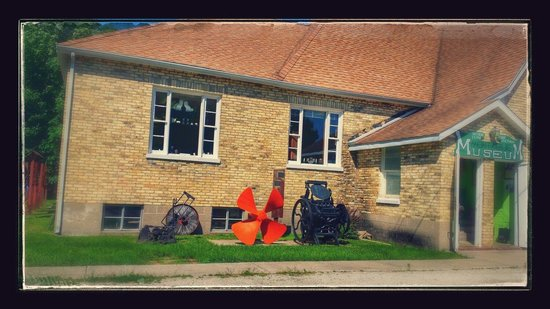 Montague Museum: Be sure to check out the basement as well as the museum yard for old farm implements, historic s