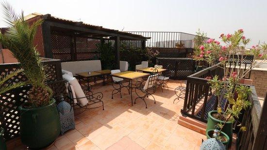 Riad Aubrac: Rooftop garden