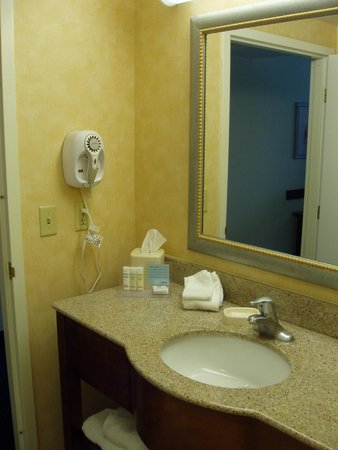 Hampton Inn Pine Grove: Bathroom