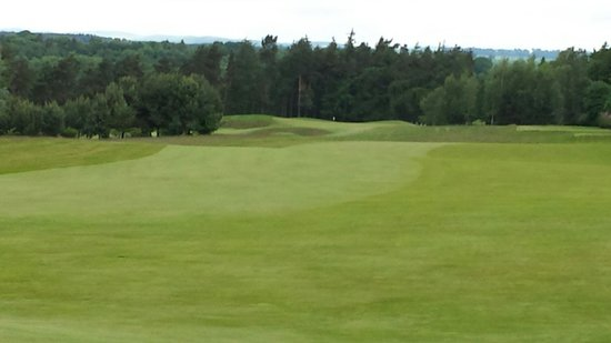 Roxburghe Hotel & Golf Course: Hole on front nine.