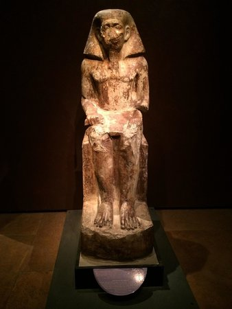 Musée égyptologique de Turin : Statue at museum