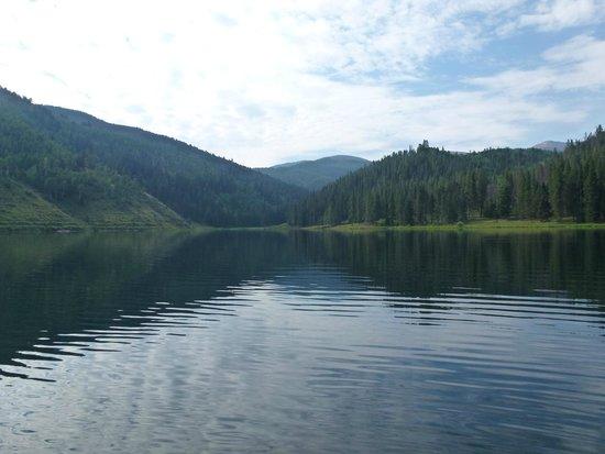 Sylvan Lake State Park Campground: The lake