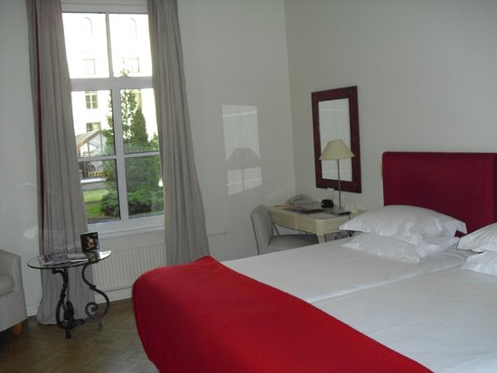 Angleterre Hotel: Camera