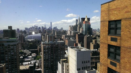 Dumont NYC–an Affinia hotel: Nice view of the city