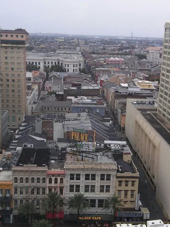 JW Marriott New Orleans : Great view