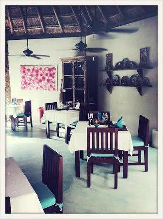 Encantada Tulum : Gorgeous restaurant :)