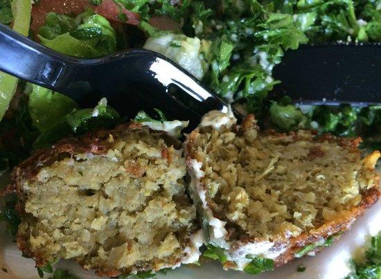 Greek Wraps: Falafel