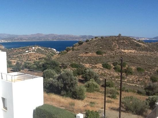 Lenikos Resort : panorama from the villas' balcony