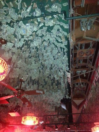 McGuire's Irish Pub: Money