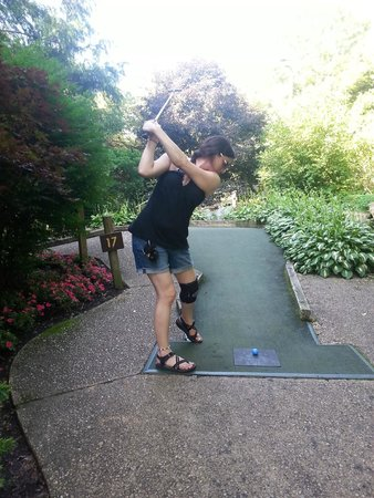 Village Greens Miniature Golf: FOUR!