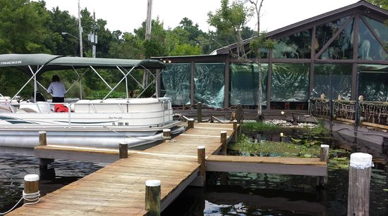 Boat parking picture of clark 39 s fish camp jacksonville for Florida fish camps