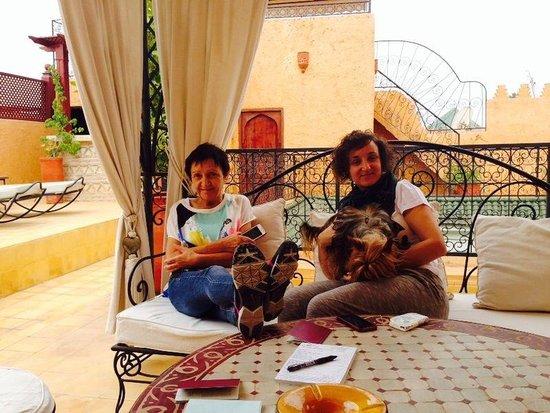 Riad Aldiana: La terrasse