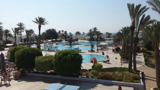El Mouradi Djerba Menzel : View from the terrace