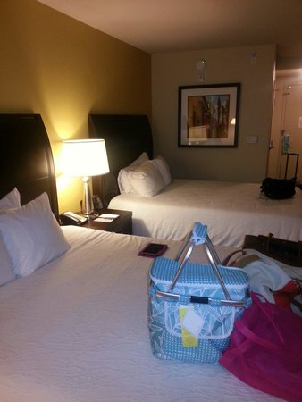 Hilton Garden Inn Pensacola Airport -Medical Center: 2 queen room