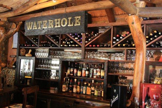 Mkuze Falls Lodge: the bar!