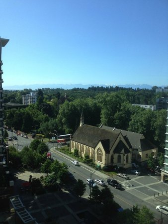 Victoria Marriott Inner Harbour: View from room 1206