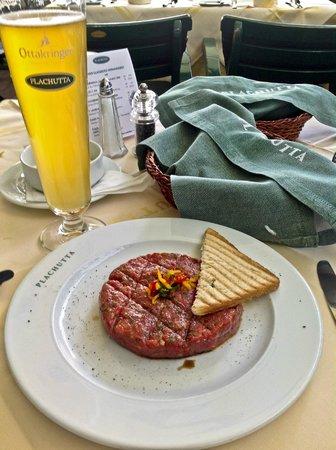 Plachutta Wollzeile: Plachutta Gasthaus zur Oper, Vienna Austria - Steak Tartare