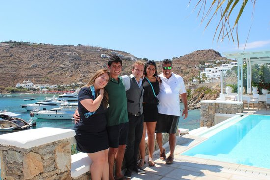 Nissaki Boutique Hotel: the staff is now our family