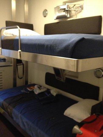 Pod 51 Hotel : Camas (bunk pod)