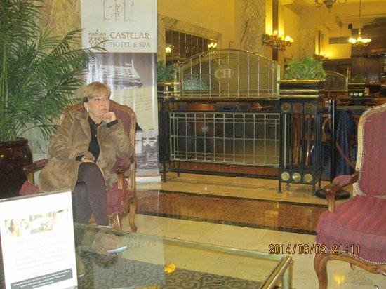 "Castelar Hotel & Spa: Aguardando ida a ""Noite de Tango""."