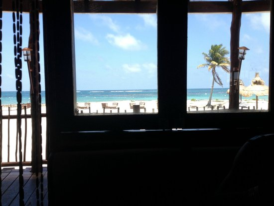Club Med Cancun Yucatan: View from restuarant