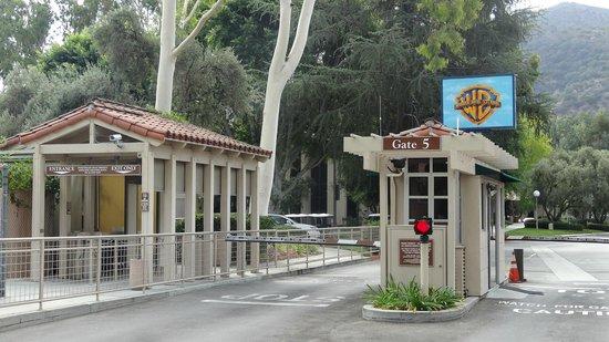 Warner Bros. Studio Tour Hollywood: An Entrance at Warner Brother's Studio