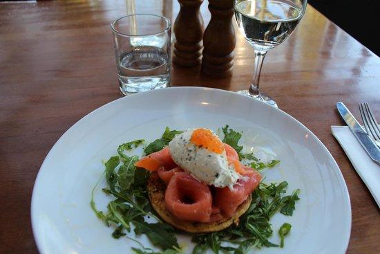 Manly Grill: Tasmanian smoked salmon